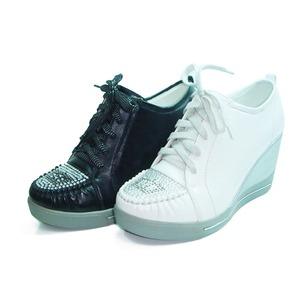 坡跟休闲运动鞋女 坡跟运动鞋女韩国