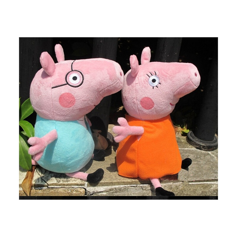 粉红小猪佩奇简笔画内容图片展示_粉红小猪佩奇简