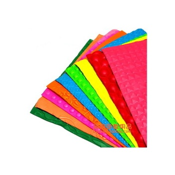 a4海绵纸 泡沫纸 带图案 彩色海绵纸 手工纸 幼儿园手工材料