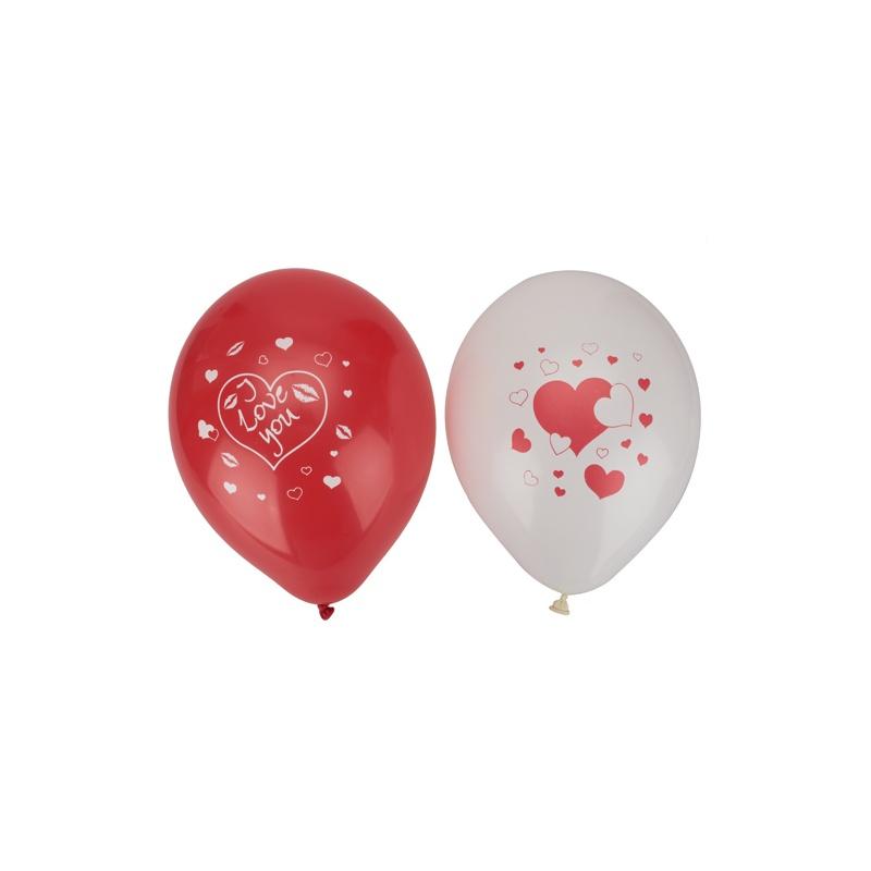 长条气球牡丹花花造型图解