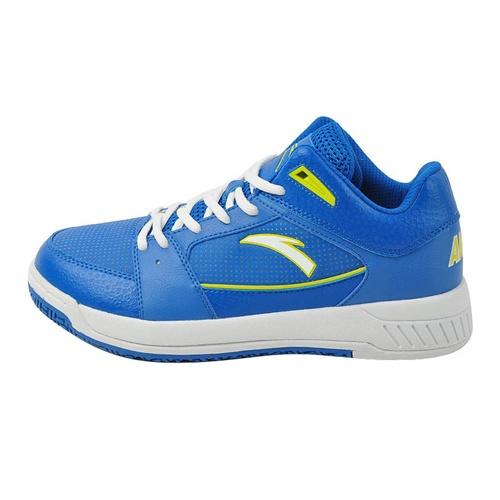 安踏蓝色篮球鞋_安踏蓝色篮球鞋图片