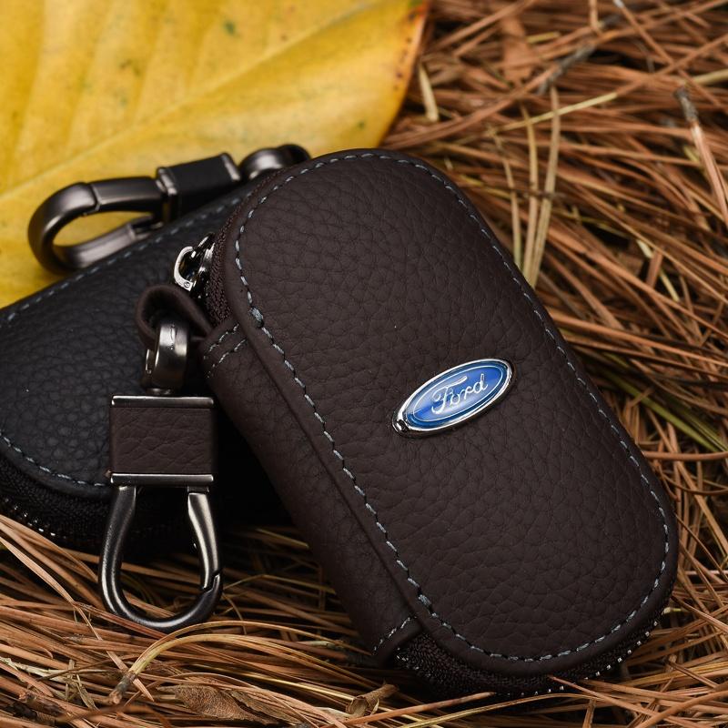 福特 福克斯 嘉年华 致胜 碳纤维钥匙包 遥控器套 汽车钥匙包