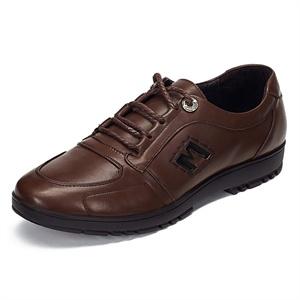 Maigao麦高男士皮鞋 新款时尚潮流正装鞋 经典系带头层牛皮商务休闲鞋M0623326-2