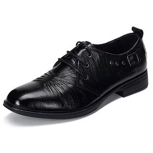 Maigao麦高男士皮鞋  时尚牛皮系带正装鞋 浪漫典雅意式商务鞋M0623209-2