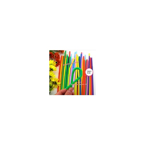 彩色吸管 艺术吸管 创意材料