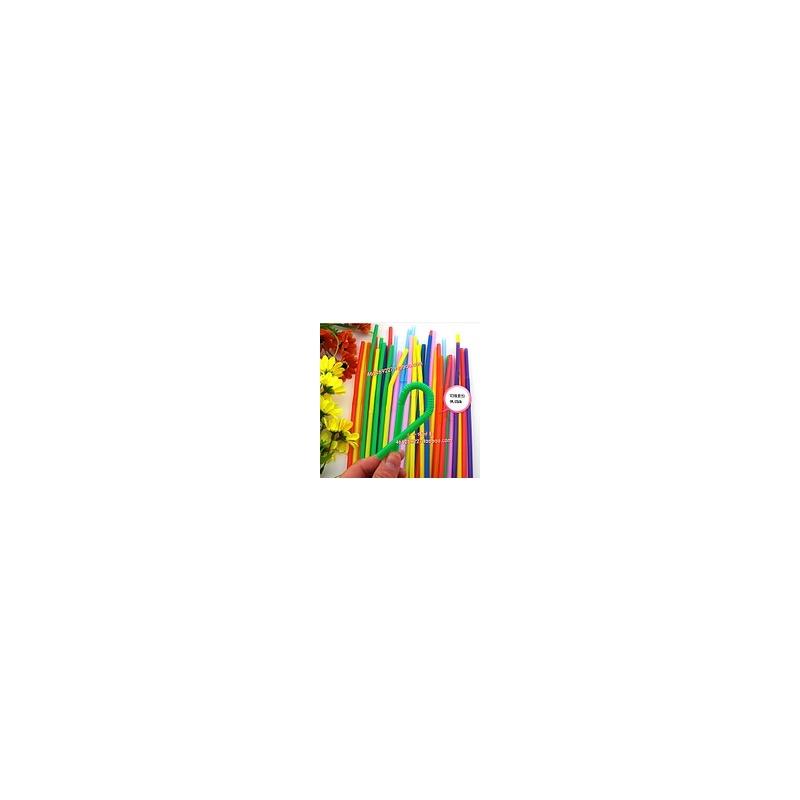 彩色吸管 艺术吸管 创意材料 幼儿园手工 智慧树常用材料儿童手工