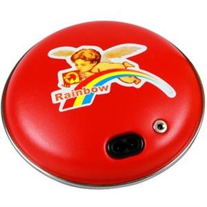 彩虹tb22电热饼 暖手宝 电暖宝 电热暖手器中号图片