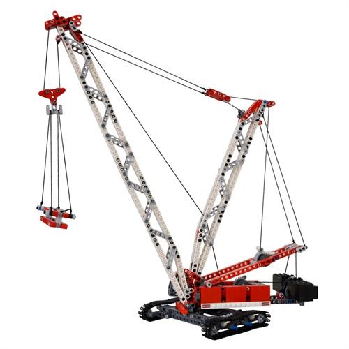 博乐2合1益智拼装积木塔吊起重机9601