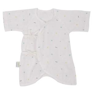 优雅100 雅氏Yeahs快乐小鱼纱布蝴蝶衣婴儿睡袍43*27cm婴儿睡袋被
