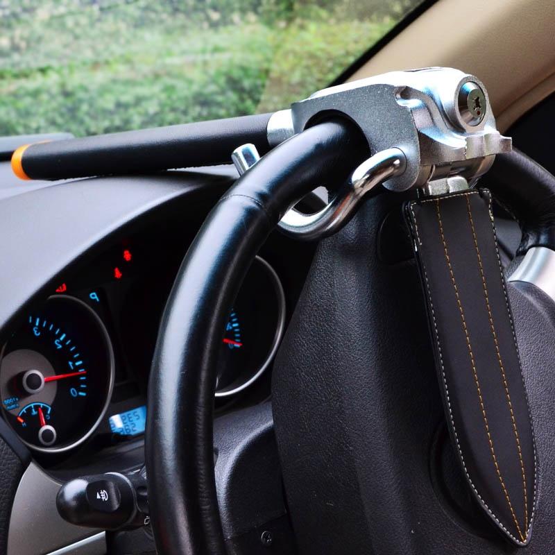 包邮 正品金盾 方向盘锁 汽车防盗锁 汽车锁 气囊锁 hk-988