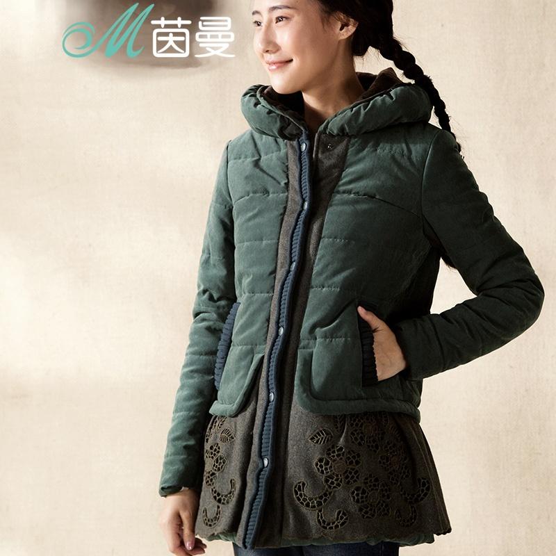棉袄机车夹克搭配女