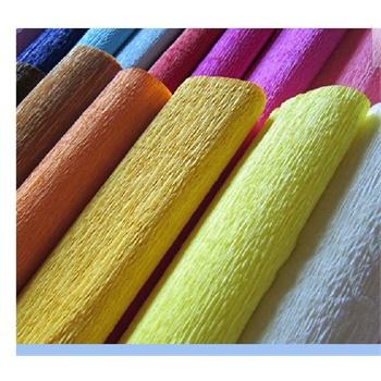 好吉森鹤diy手工折纸-玫瑰花材料纸/纸花用纸/手揉纸/皱纹纸/伸缩纸