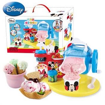 手工制作diy 迪士尼儿童雪糕机冰淇淋机