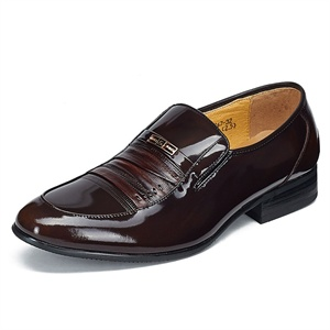 Maigao麦高男士皮鞋 时尚商务休闲鞋 魔幻亮面牛皮正装鞋 M0623267-32