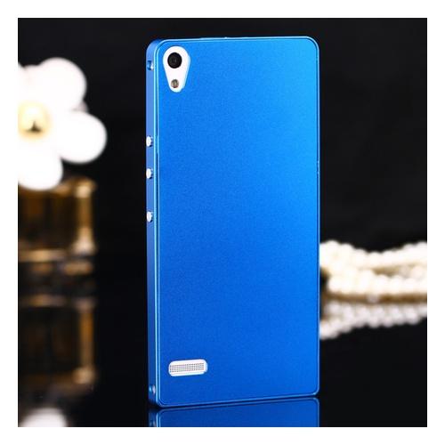 华为p6手机套 超薄金属边框华为p6手机壳 华为p6手机保护壳金属壳土豪