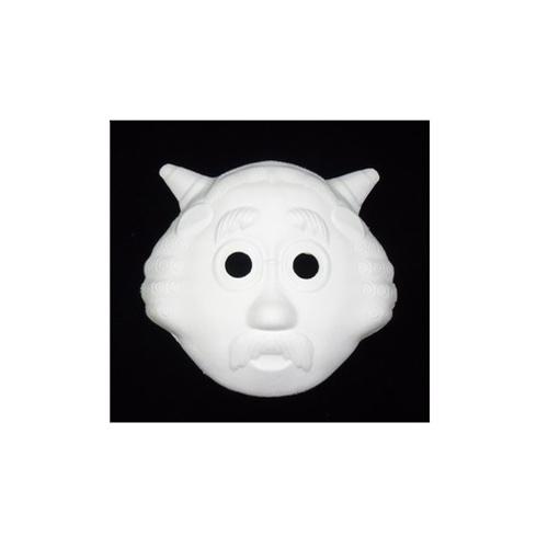 脸谱白色空白面具