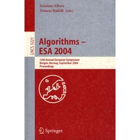 Algorithms -- ESA 2004(算法-ESA2004)
