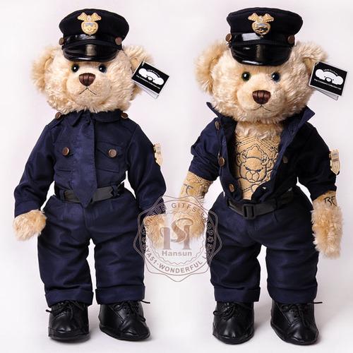 纹身警察泰迪熊第