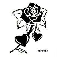 玫瑰花图腾纹身图案内容图片分享