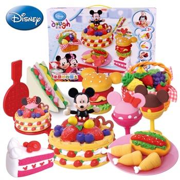 迪士尼橡皮泥无毒正品儿童彩泥模具橡皮泥套装粘土亲子玩具