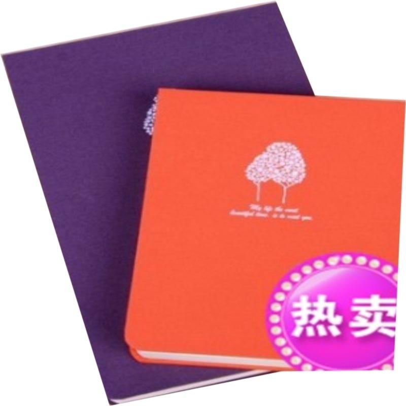 韩国文具记事本经典木纹速写本空白本牛
