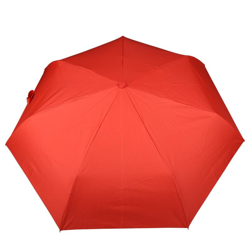 法国lexon乐上 低调简约迷你全自动雨伞lu16_暖红o3
