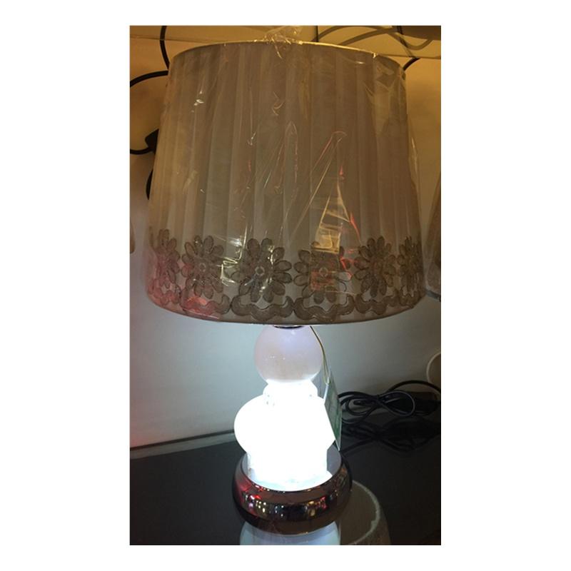 【-灯具】欧式田园风格手绘陶瓷台灯
