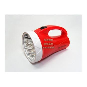 雅格led高亮度手提灯yg-3501(红)