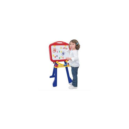 正品特价 绘儿乐 crayola双面磁性儿童大画板画架幼儿黑白板5032写字