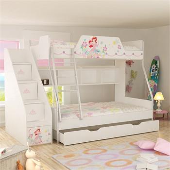 迪士尼儿童高低床 女孩儿童床儿童家具1