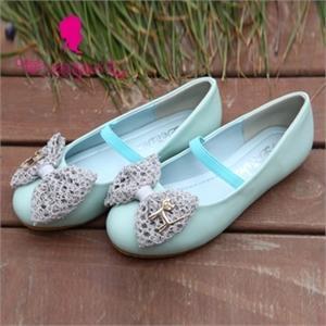 2012新款单鞋 笛莎女童可爱小猫蝴蝶结儿童皮鞋1240503