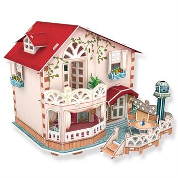 【乐立方其他模型玩具】乐立方3d立体拼图纸膜建筑
