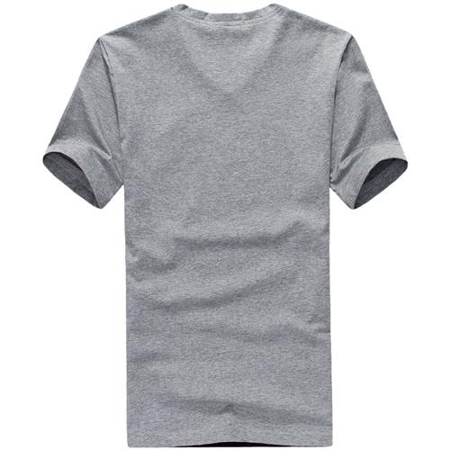 灰色半截袖搭配