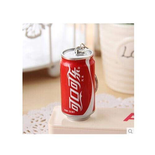 韩国文具 可爱创意饮料伸缩圆珠笔 易拉罐伸缩笔 学生