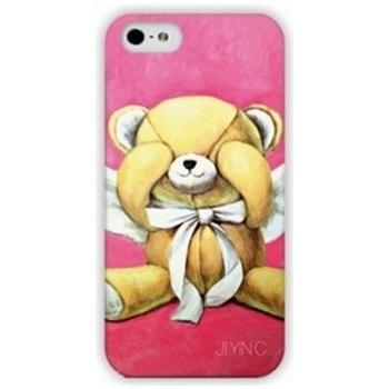 苹果5s iphone5s 害羞小熊卡通手机保护壳 外壳hl