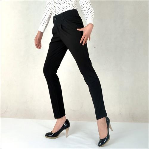 闲铅笔裤 直筒裤