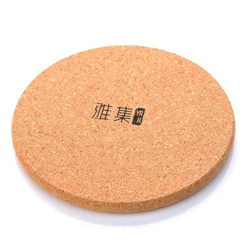 雅集圆形木垫wj0101 软木杯垫茶杯托碗垫