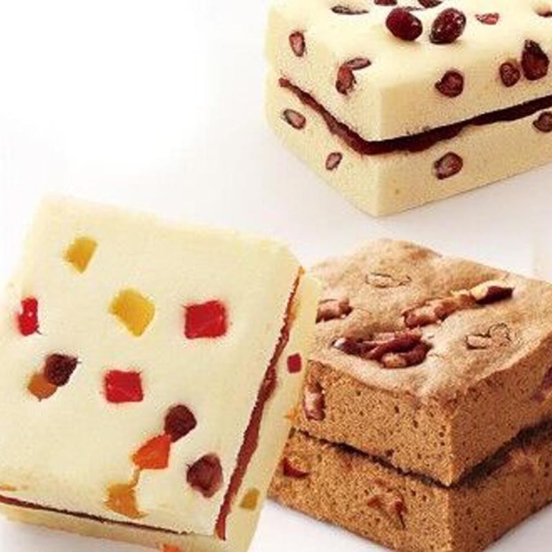朗丽 蒸的派 夹心蛋糕 红枣 红豆 水果口味 早餐糕点西式甜点零食2kg图片