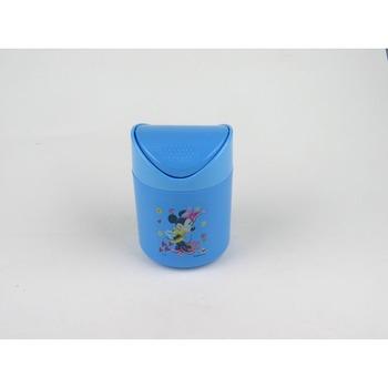 dp842蓝色圆形垃圾桶