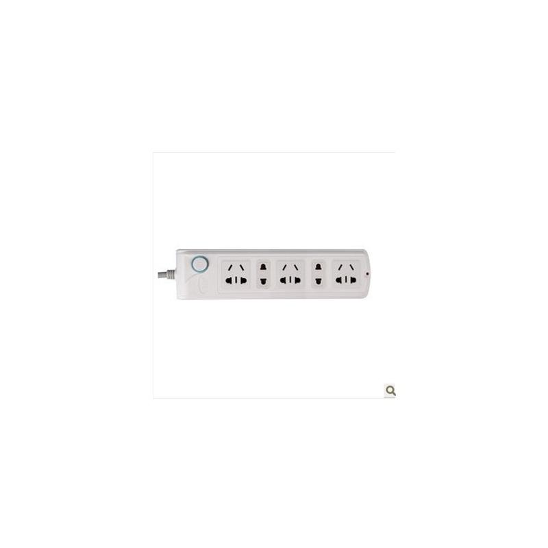 王邦电工家用插座排插接线板5插位插排一体铜芯