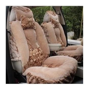 汽车坐垫冬季新款毛绒座垫福克斯朗逸速腾明锐凯美瑞308汽车坐垫 通用