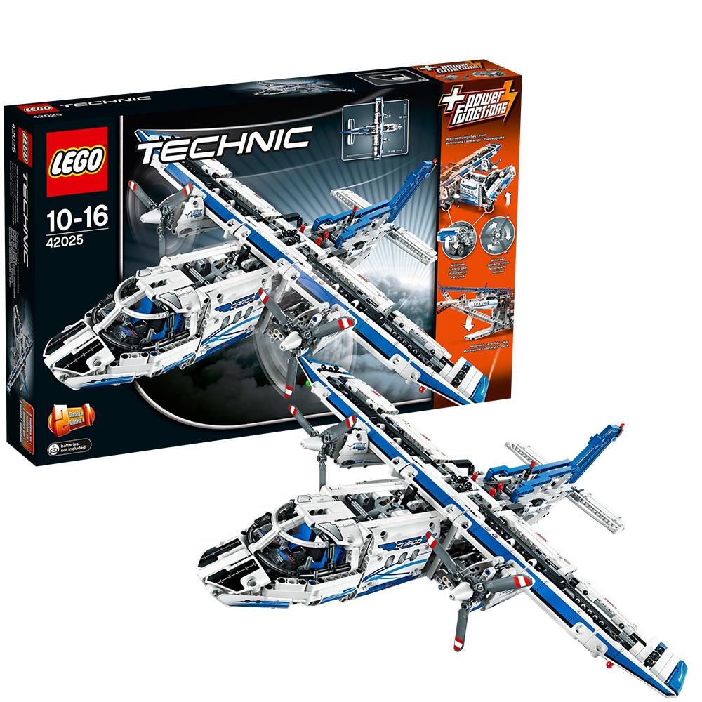 lego 乐高 technic机械组 货运飞机 l42025