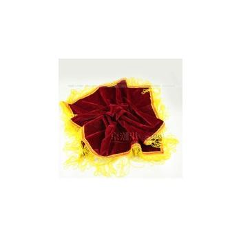 大红花托盘红布
