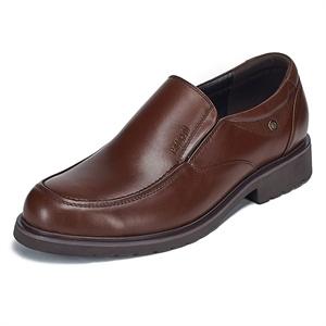 Maigao麦高 男士皮鞋 大头商务鞋 简约贵族打蜡牛皮正装鞋13205-2