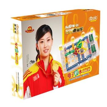 迪宝乐电子积木益智拼装玩具 (118拼)