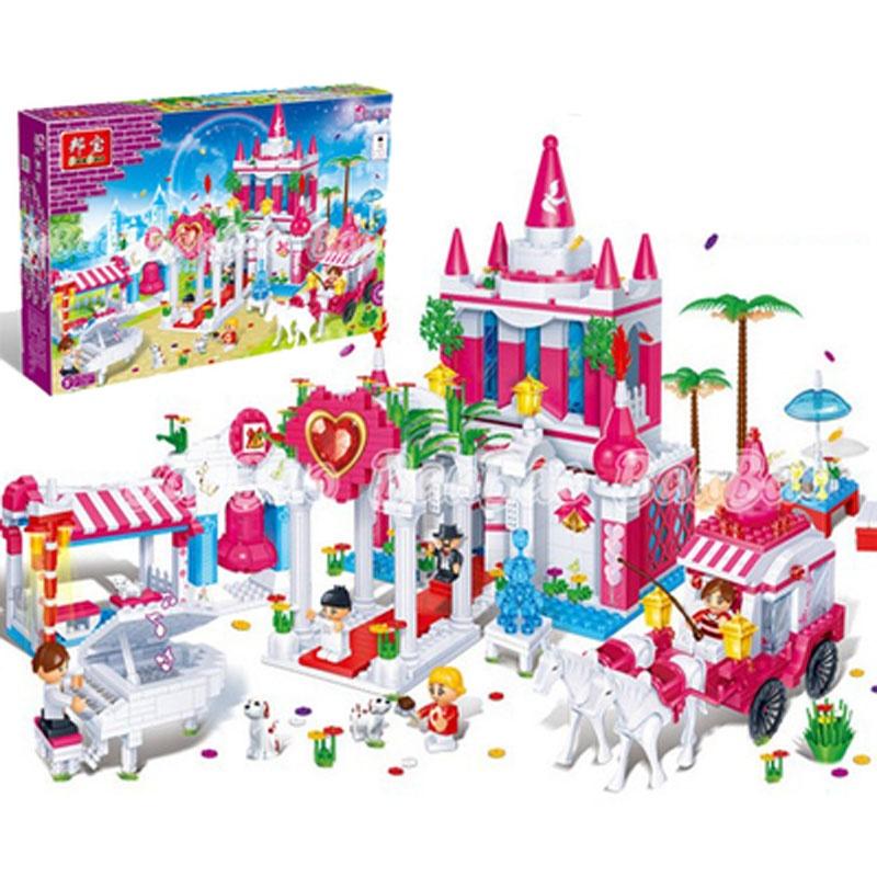 00 邦宝特大颗粒具积木教育玩具动物园 6503益智玩 194.