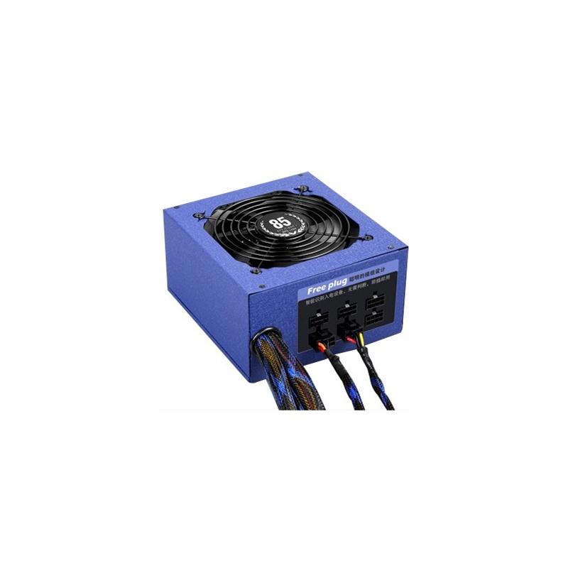 先马 省电王600 模组电源 台式电脑电源 环保节能 额定600w