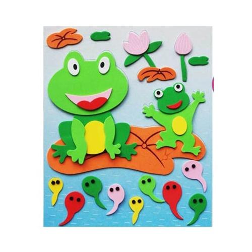 幼儿海绵纸贴画图片幼儿纸贴画幼儿手工纸贴画大