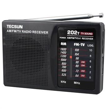 德生r-202 袖珍式调频/调幅收音机