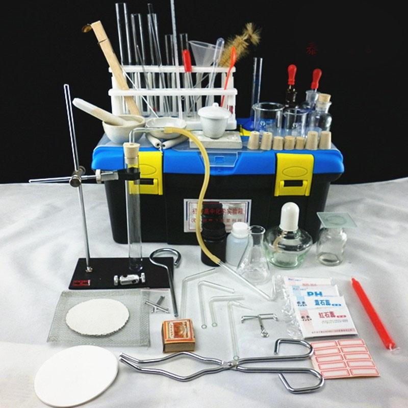 初中化学中考实验操作须备实验器材仪器 经济型